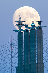 Moon over KC Sky Stations