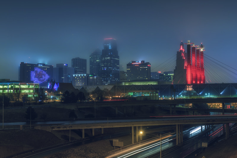 KC Skyline - Chiefs