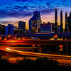 Kansas City Sunrise - Glow Edit