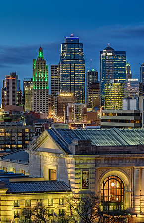 Kansas City Skyline Portrait