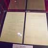 Bob Seger handwritten lyrics- Rock & Roll Hall of Fame, Cleveland, OH