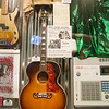 Guitar was a gift from Glenn Frey to Bob Seger- Rock & Roll Hall of Fame, Cleveland, OH