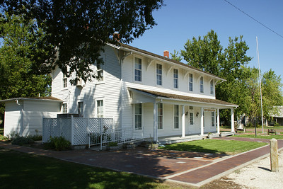 Harvey House Museum in Florence, Kansas. Was the 2nd Harvey House restaurant opened by Fred Harvey on the Santa Fe Railroad. Originally called the Clifton Hotel, operated from about 1879 to 1900. For more information see:  http://skyways.lib.ks.us/museums/harveyhouse/