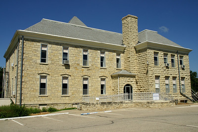 Hill School in Marion, built 1873. The oldest building in Kansas that has been in continuous educational use. For more information, see: http://www.getruralkansas.org/Marion/165Explore/849.shtml