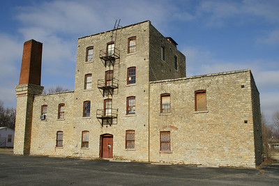 Kansas Sugar Refining Mill in Hutchinson http://pdfhost.focus.nps.gov/docs/NRHP/Text/85000013.pdf The only known remaining structure which was associated with the production of sugar in Kansas in the 1800's. Built in 1881-1882 and never achieved the success it's owner and promoter expected, it closed by 1885. By 1888, the Hutchinson Soap Factory began manufacturing operations and used the building until about 1900. Then, the Nelson Mfg and Supply company, who produced irrigation, and galvanized iron products, and later plumbing supplies used the building until 1965. The current owner purchased the building in 1983 and stabilized it.
