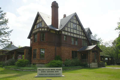 """William Allen White home, """"Red Rocks"""" in Emporia, KS.  For more information see the Kansas State Historical Society page at: http://www.kshs.org/portal_william_allen_white"""