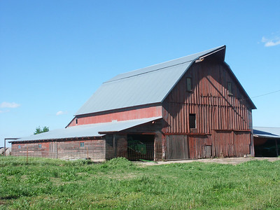 Reno County barn on Greenfield Rd near Haven Rd