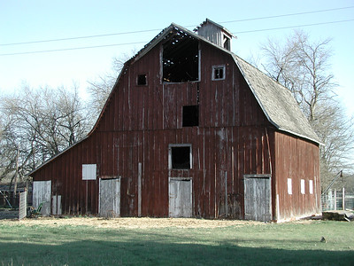 Butler County barn on SE140th near Sunflower Rd