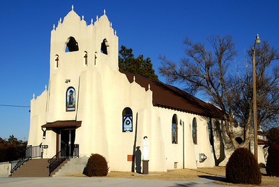 February: Church in Seguin - Sheridan County northwest Kansas