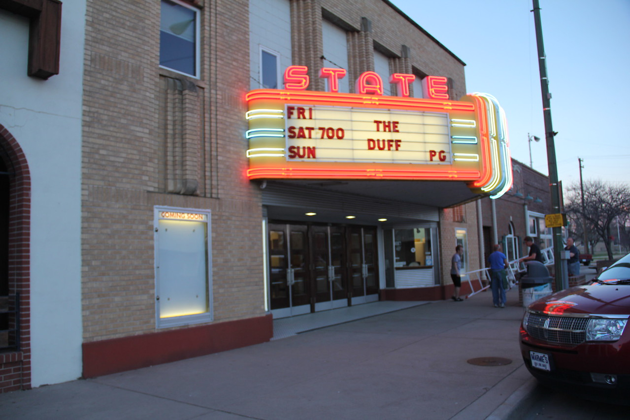 State Theater in Larned