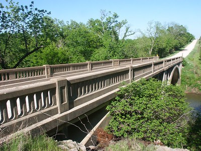 Cedar Creek bridge - Anderson County Kansas