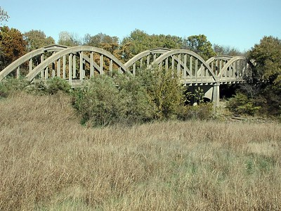 Verdigris River Marsh Arch Bridge near Independence, Kansas