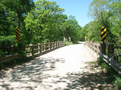 Slate Creek bridge - Greenwood County Kansas