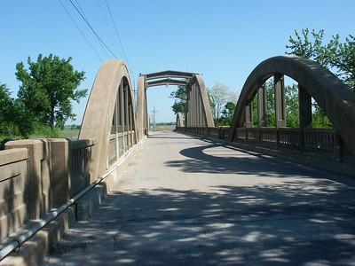 Creamery marsh arch bridge - Osawatomie, Kansas