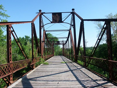Asylum iron truss bridge - Osawatomie, Kansas