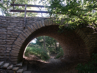Stone Arch bridge at Rice - Cloud County
