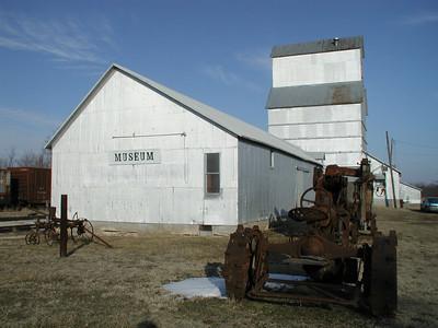 Elevator museum in Grenola - Elk County