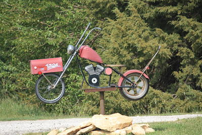 Chopper mailbox - Harvey County