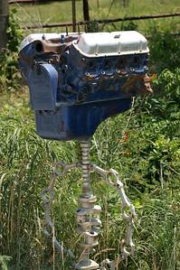 Engine mailbox - Woodson County