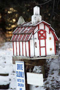 Shed mailbox - Sedgwick County