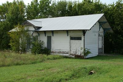 Former railroad depot in Aurora