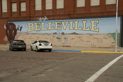 Mural in Belleville