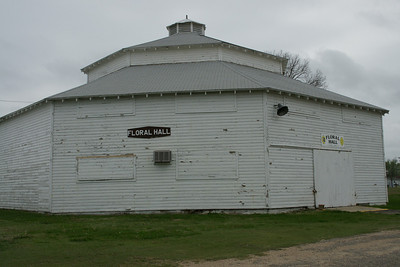 Historic Floral Hall at fairgrounds in Belleville - built in early 1900's