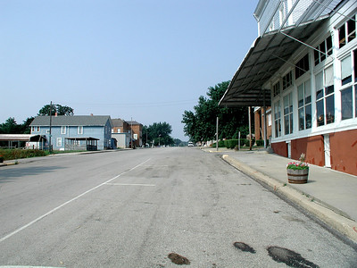 Main Street in White Cloud