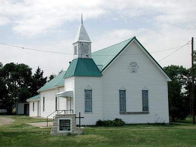 Pleasant Ridge Christian Church near Alta Vista - northeast Morris County