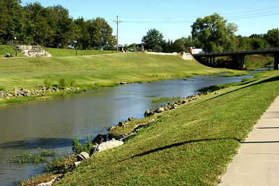 Neosho River in Council Grove