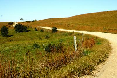 Road near Diamond Springs