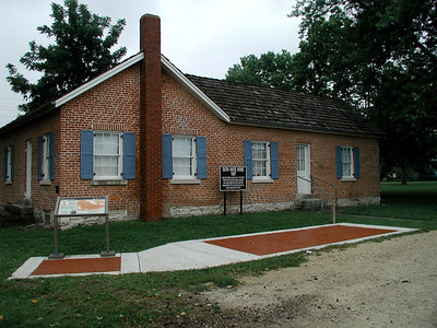 Seth Hayes home. Founder of Council Grove
