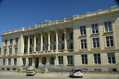 Landon Office building near Kansas State Capital