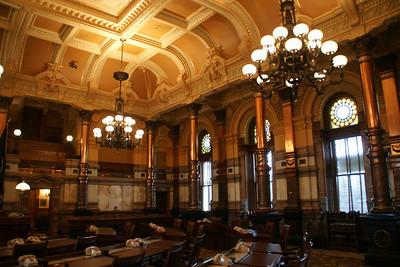 Senate Chamber inside Kansas State Capitol