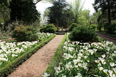 Flower gardens. Photo by Karen.