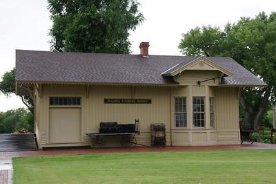 Belpre, Kansas Santa Fe depot