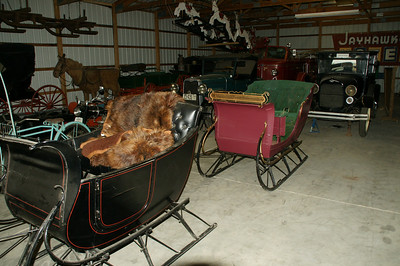 Sleighs and other transportation equipment