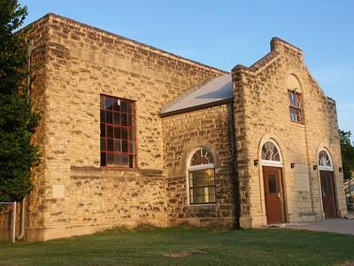 Stone Community Building in Douglass - 1936 WPA project