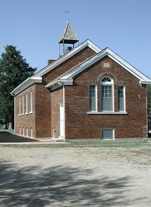 Cumberland Community Church near Bois D' Arc