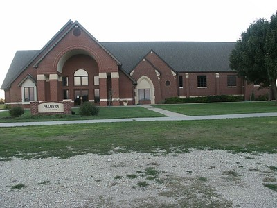 Palmyra Baptist Church south of Whitewater