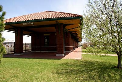 Restored Missouri Pacific Depot