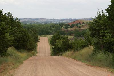 Gyp Hills Scenic Drive, Barber County Kansas