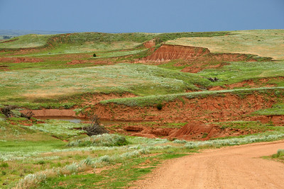 Canyons and breaks along Lasswell Road