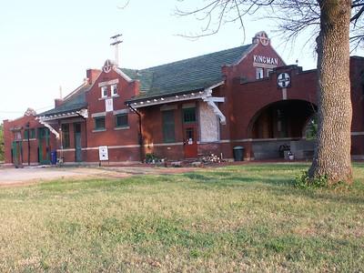 Kingman Santa Fe railroad depot