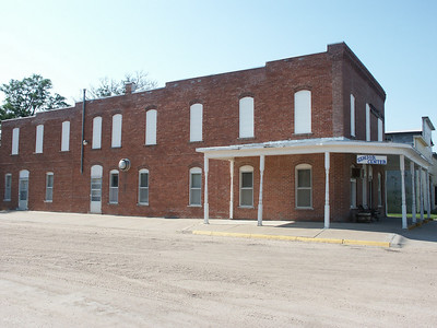 Senior Center - brick building on Main Street