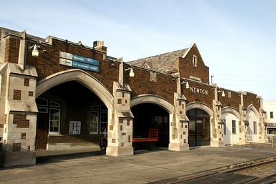 Historic Newton Santa Fe Depot