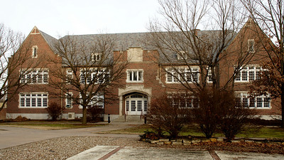 Bethel College building in North Newton