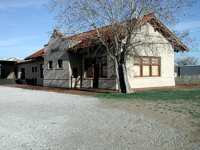 Santa Fe Depot in Pratt