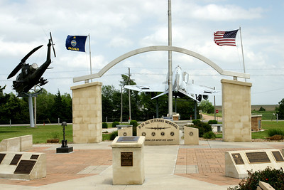 B-29 Veteran's Memorial north of Pratt at former Army Air Field built in 1942
