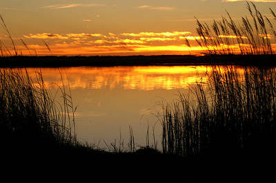 Sunset at Little Salt Marsh